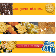 Honey Comb Mix Banner